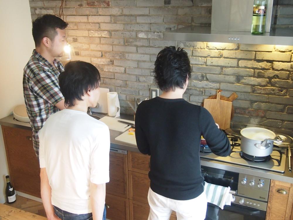 sachiful_kitchen 男の料理教室風景