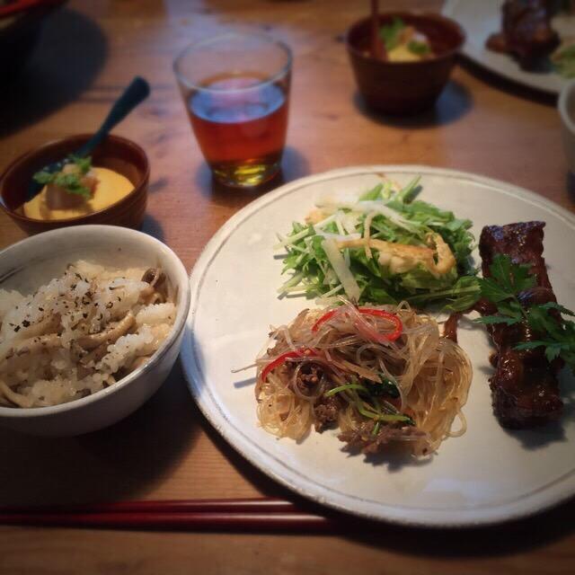 9月料理教室 『秋の訪れを感じて頂けるお料理』