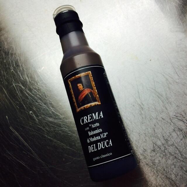バルサミコクリーム DEL DUCA