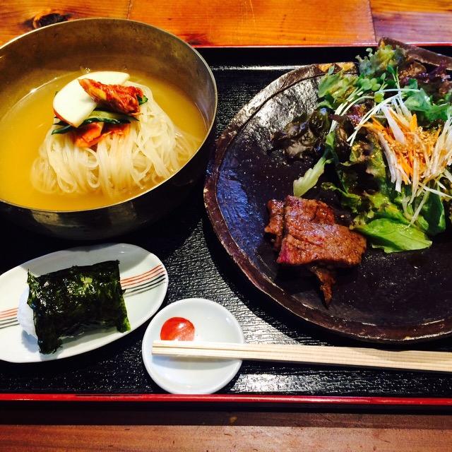 三馬力1/2 冷麺膳