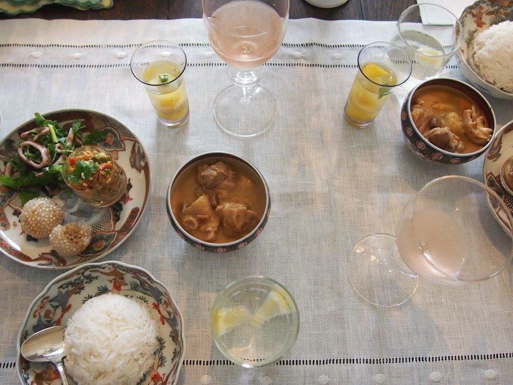 TABLE et PLUS  タイ料理のレッスン