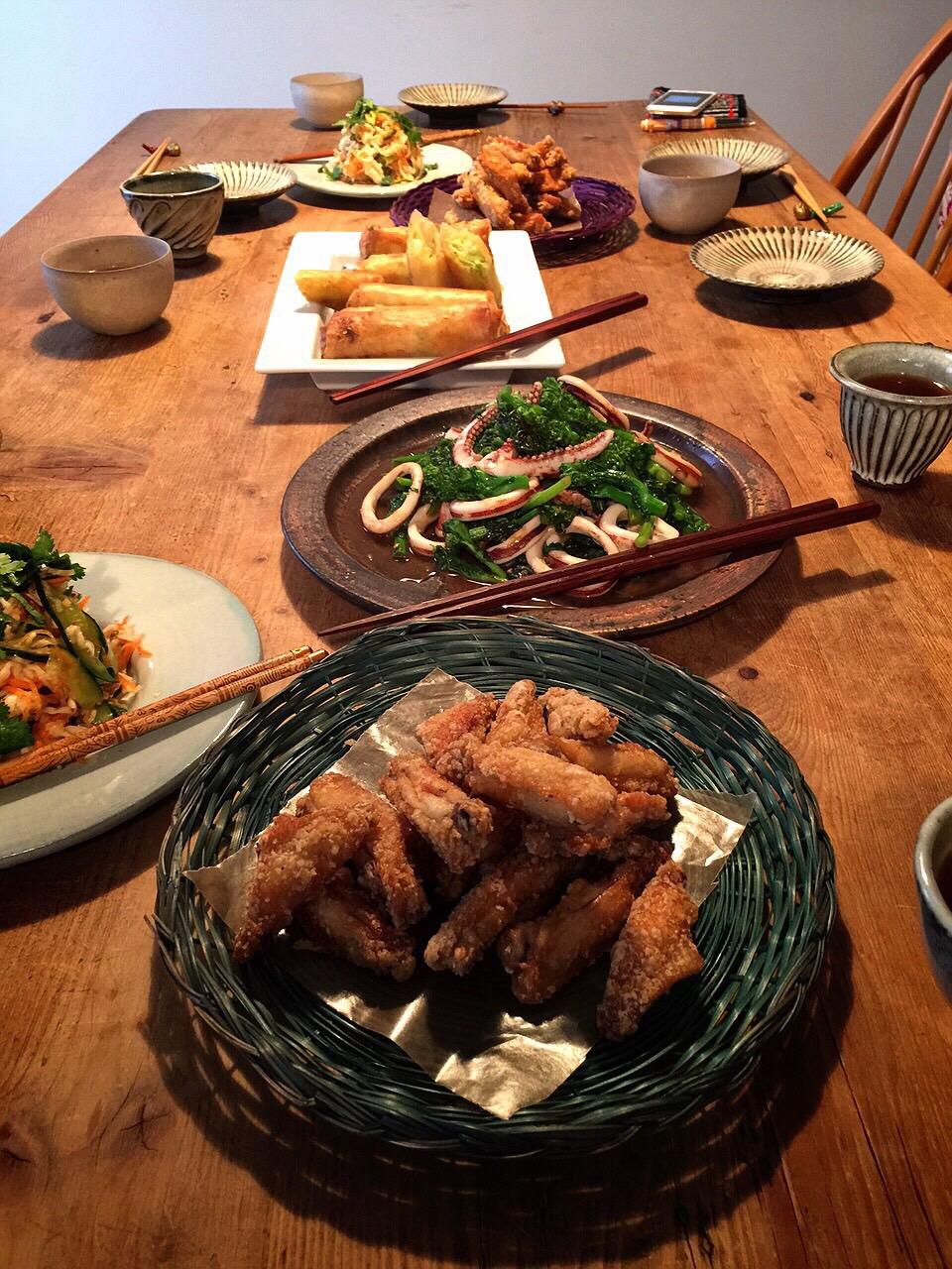 2月 料理教室『春の中華&エスニック』