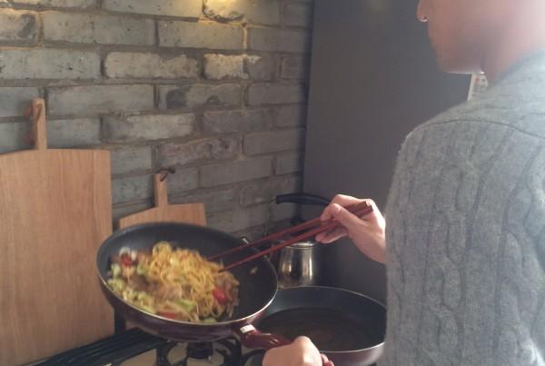 清水紗智 男の料理教室