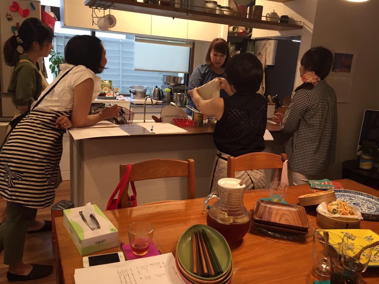 東京へ出張料理教室行ってきました