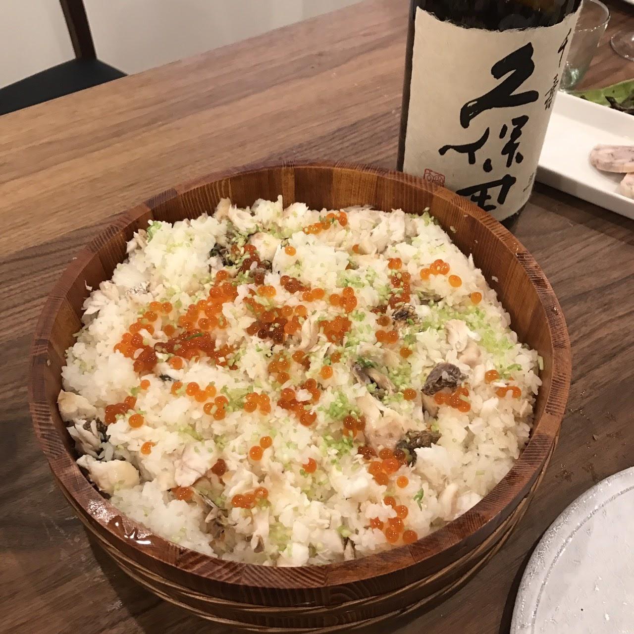 『日本酒に合う料理』男の料理教室 – 2017年3月