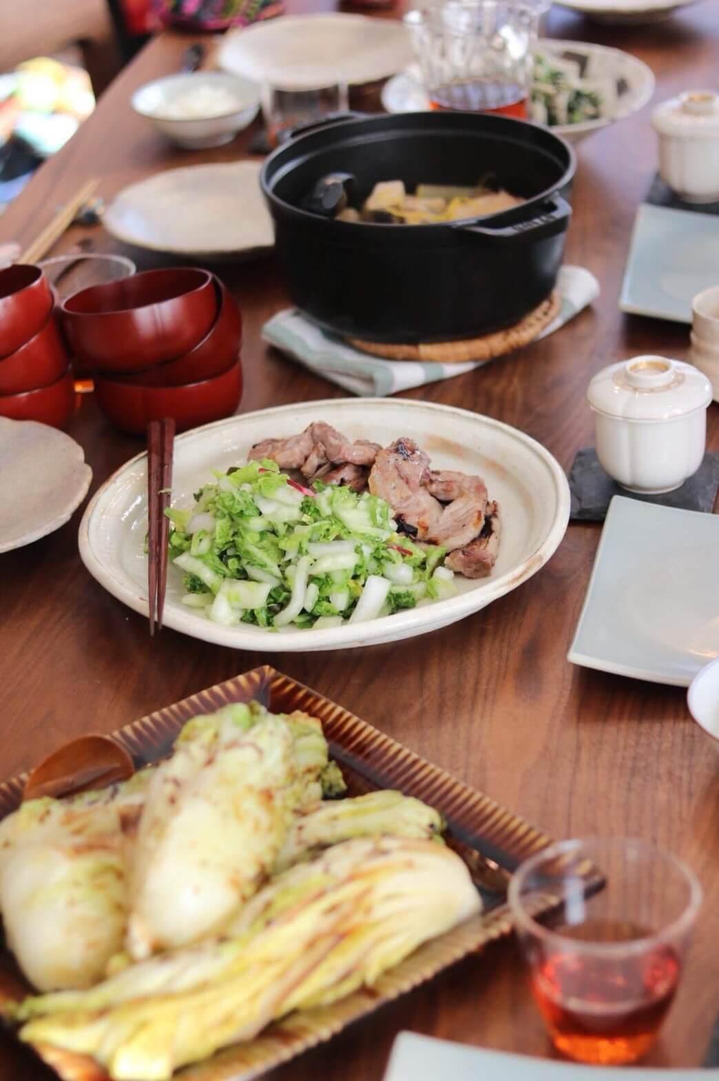 『鍋野菜を使ったお料理』- 料理教室 2018年1月(おさらいクラス)
